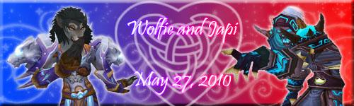 Wolfie and Japi by Shadow-Wolfen