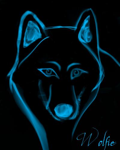 Smokey Wolfie by Shadow-Wolfen