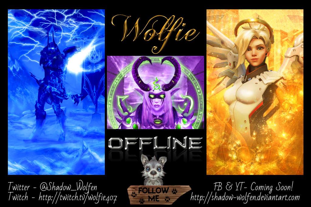 Twitch Offline Banner by Shadow-Wolfen