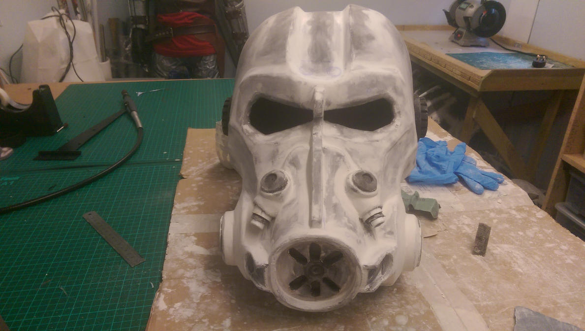 Fallout 4 T60 Power Armour Helmet WIP 2 by KnoxyMcKnox