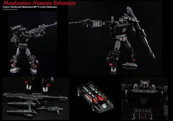 Custom Transformers Masterpiece Nemesis Sideswipe by chonosmoon