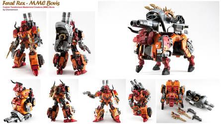 Mastermind Creations MMC Bovis Custom Transformers by chonosmoon