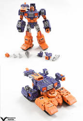 Transformers Custom Generations Impactor by chonosmoon