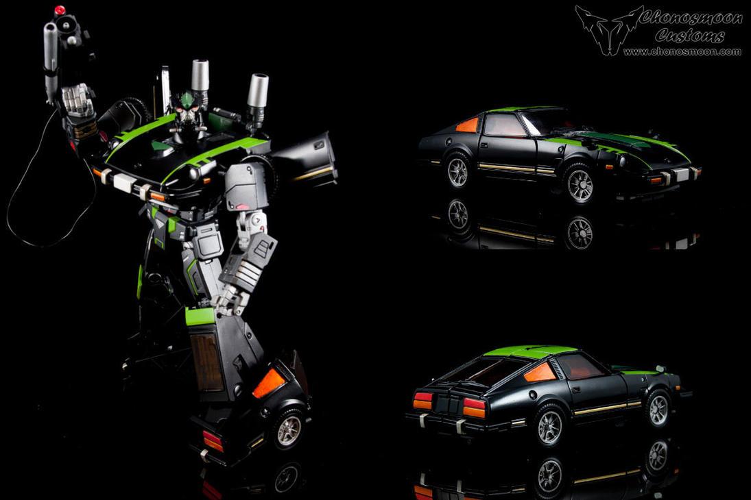 Custom Transformers Masterpiece G1 Lockdown by chonosmoon