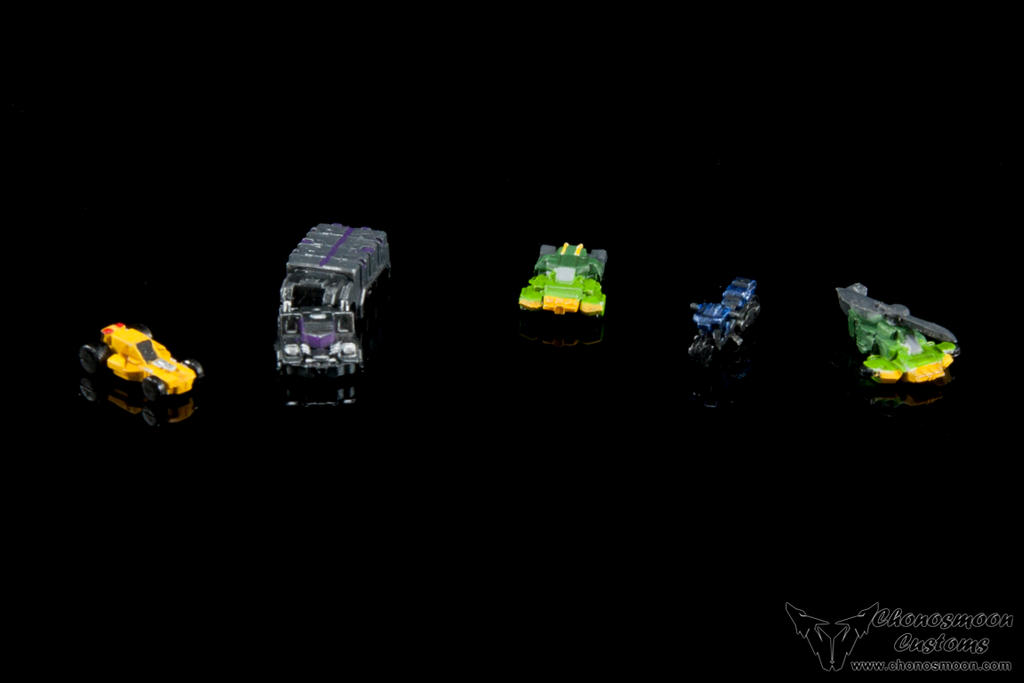 Fansproject Microsized Transformers Figures by chonosmoon