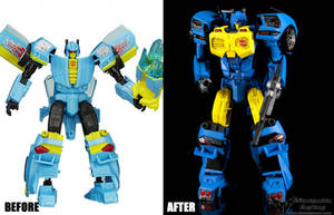 Custom Transformers IDW MTMTE Nightbeat
