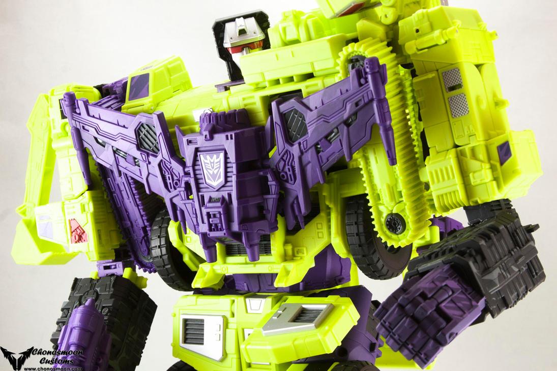 Custom Transformers Devastation Devastator by chonosmoon