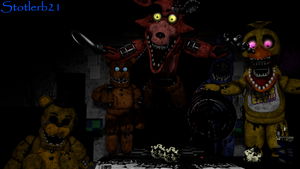 (SFM/FNaF2) The Withered's