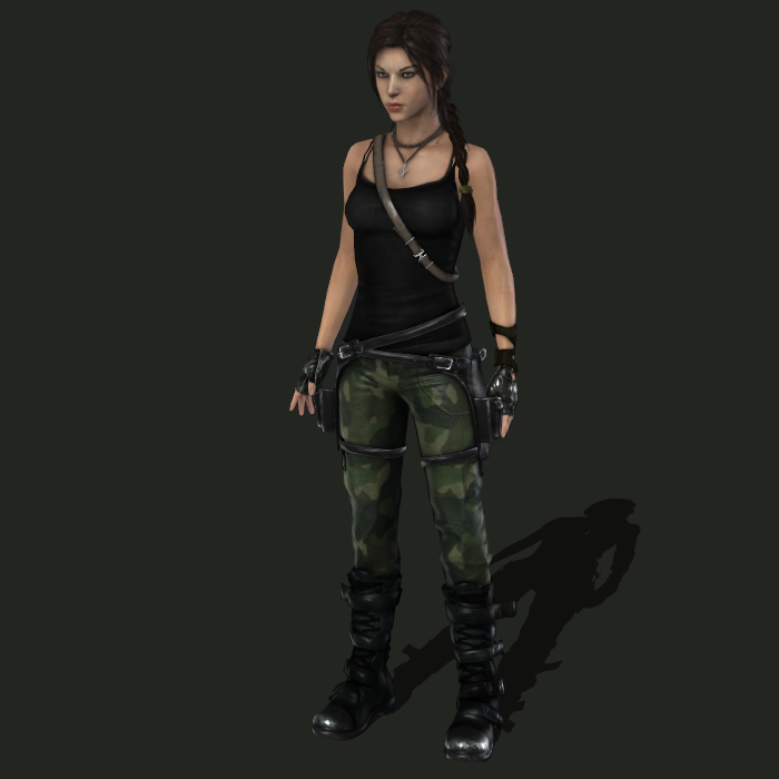 Tomb Rider Wallpaper: What Outfit Would Lara Wear In TR2/10?