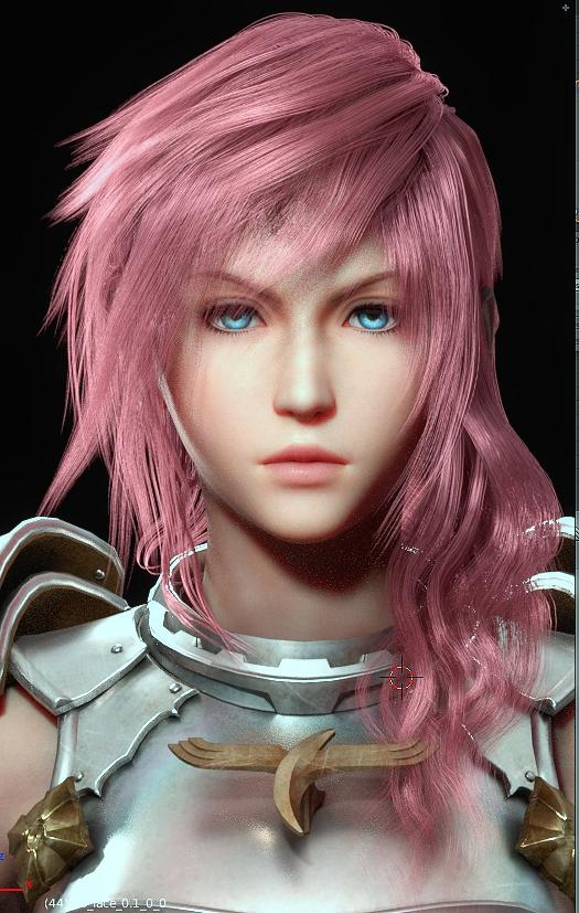 Lightning Hair Test by xBaebsae