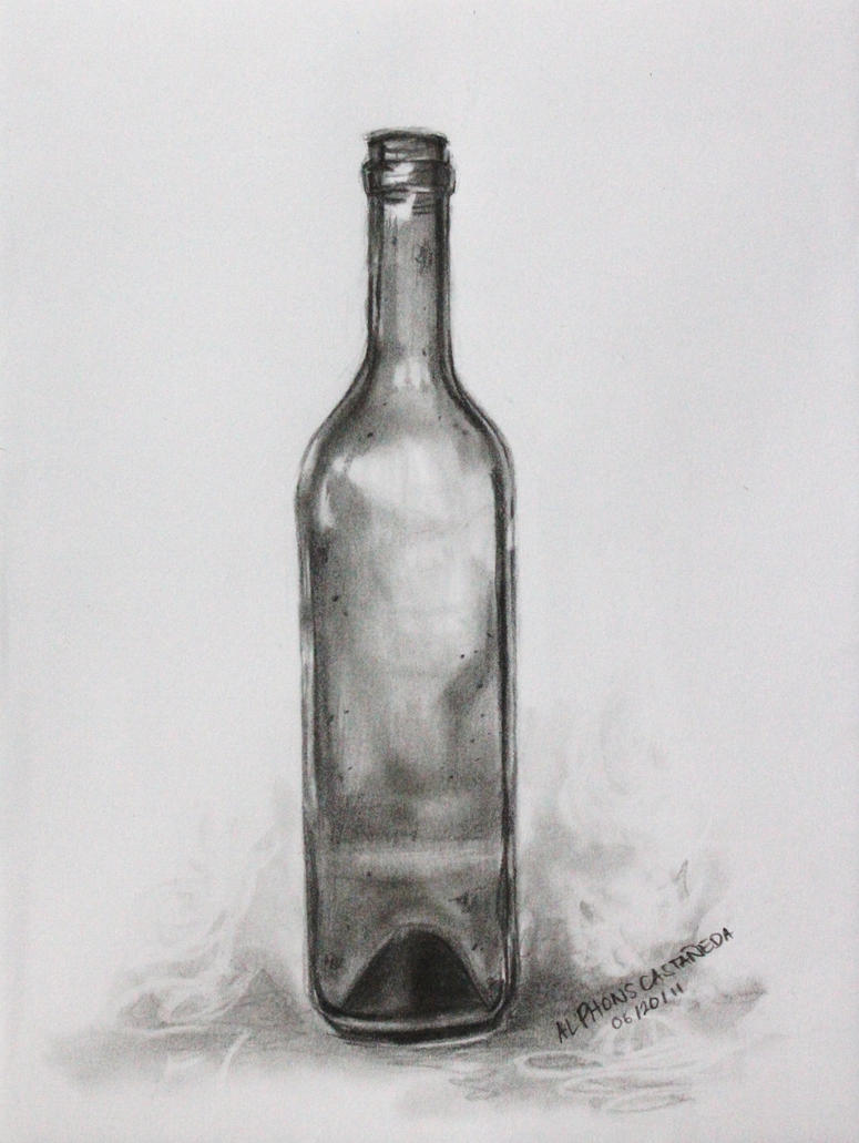 wine bottle by Phons08194 on DeviantArt