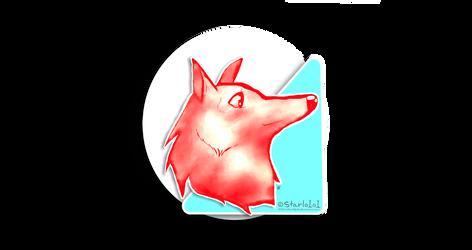 triangle dog sketch background by starlo1o1