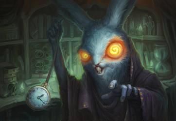Trust the rabbit by AlexeyZaporozhets