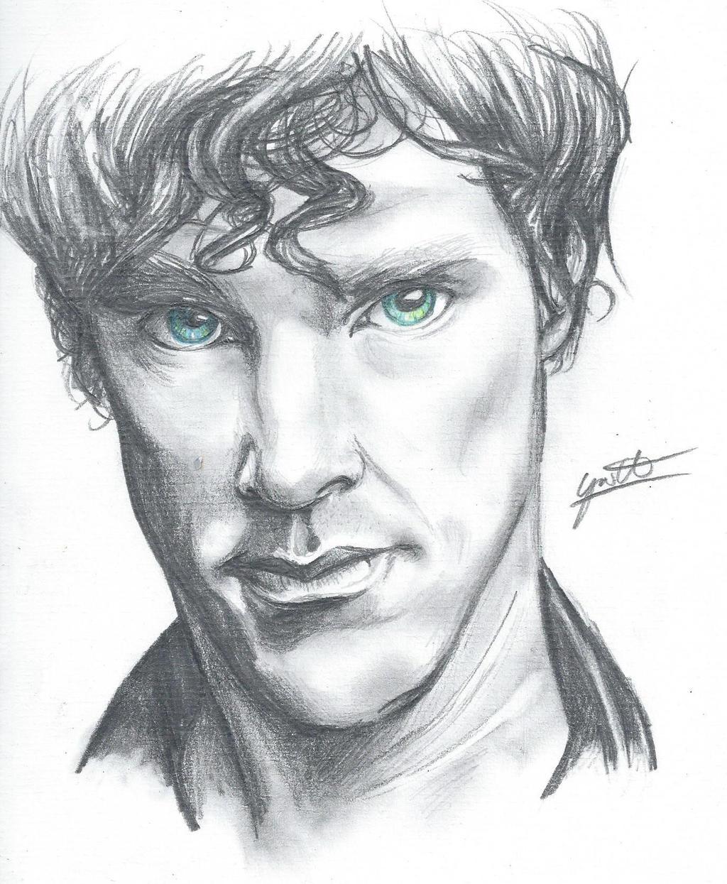 Benedict Cumberbatch by Gotashi-Chan