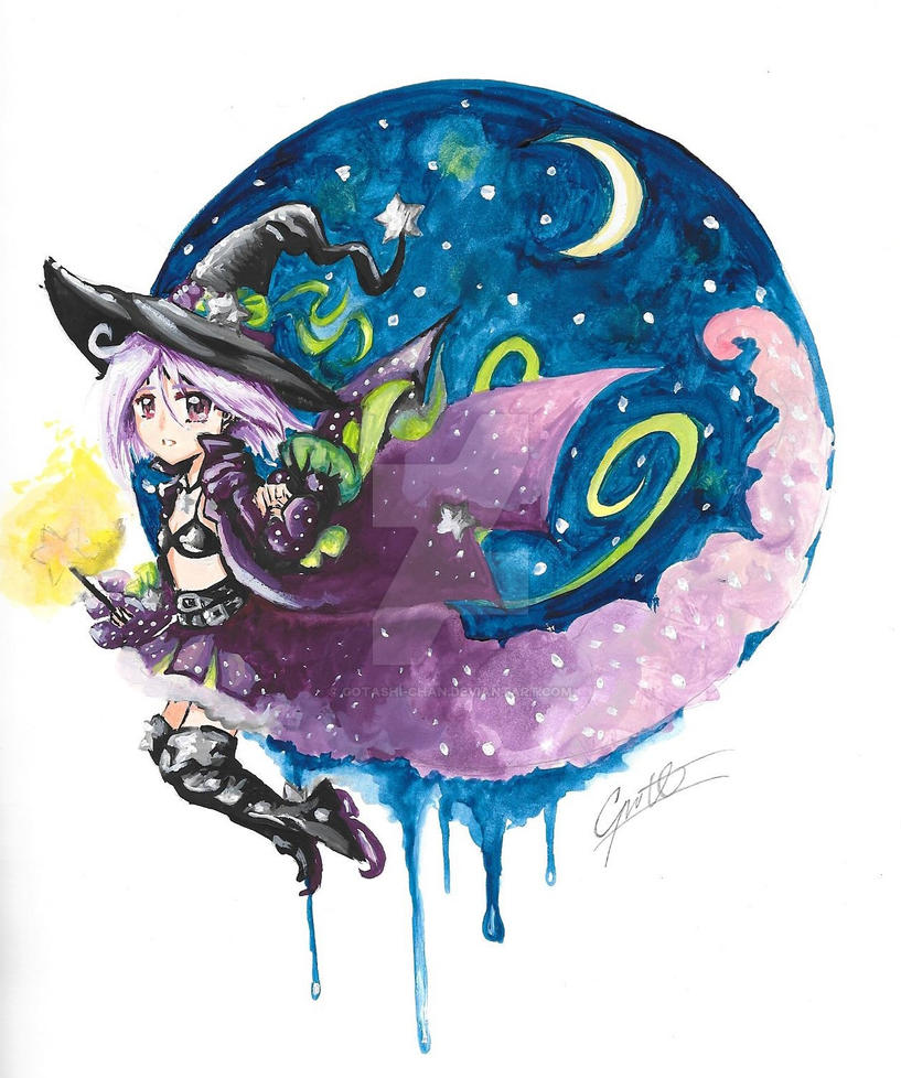 The Witch Princess by Gotashi-Chan