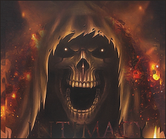 Flaming Reaper by zhiken