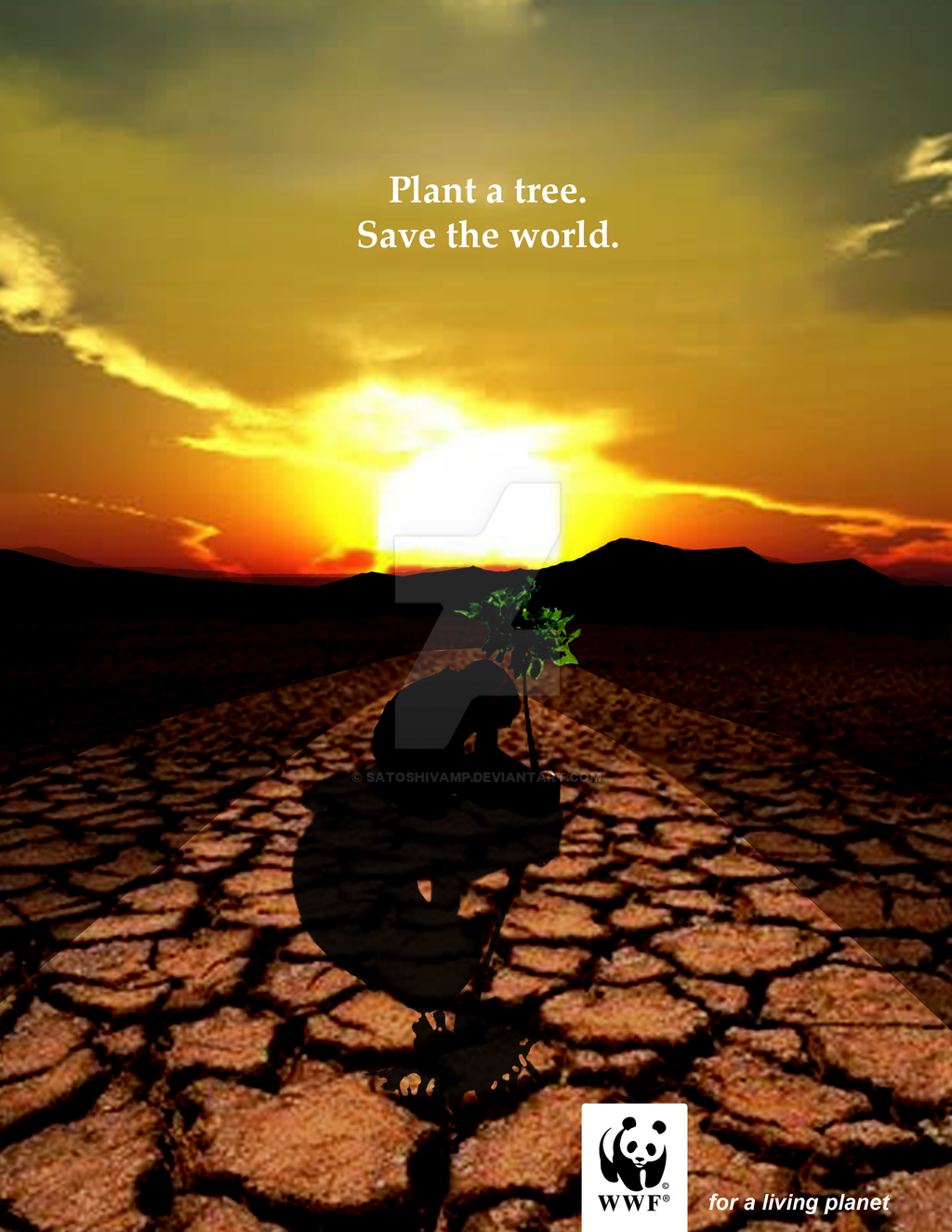 save the world plant tree Drones could fight deforestation by planting 1 billion trees a year.