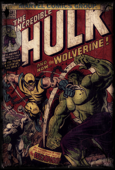Comic Remix - The Incredible Hulk #181 by PsychosisEvermore