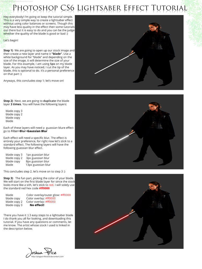 3 easy steps to a great lightsaber effect by plagueinfected on 3 easy steps to a great lightsaber effect by plagueinfected baditri Images