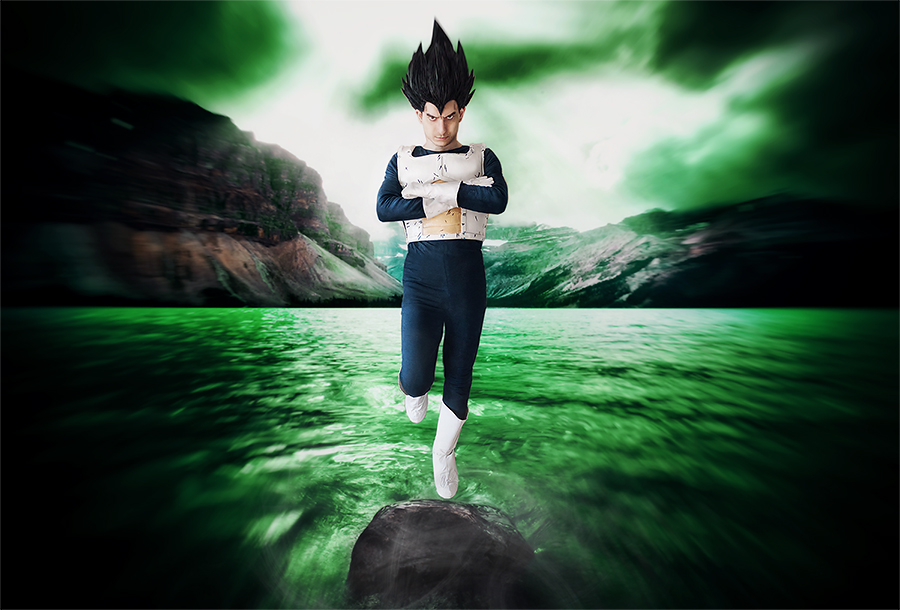 On Namek by SanjiroCosplay