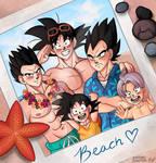 A Saiyan Day at the Beach