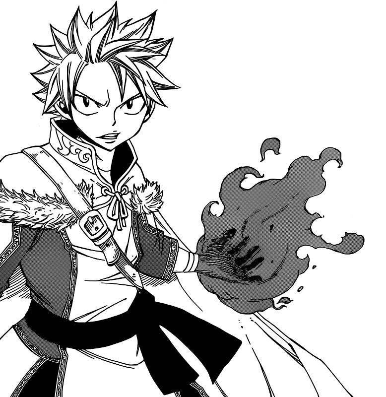 Image Gallery natsu fairy tail manga