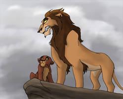Zira and Kovu