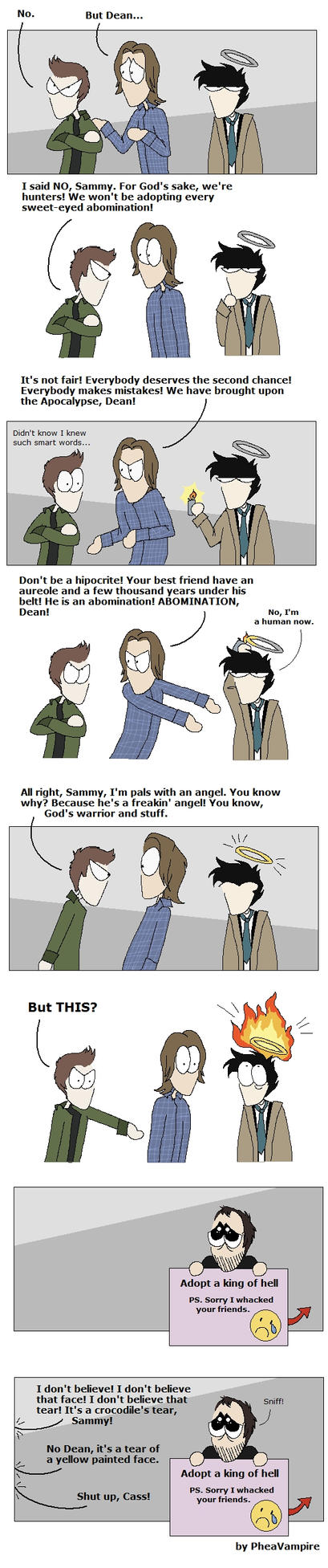 SPN: But Dean... SPOILER by PheaVampire