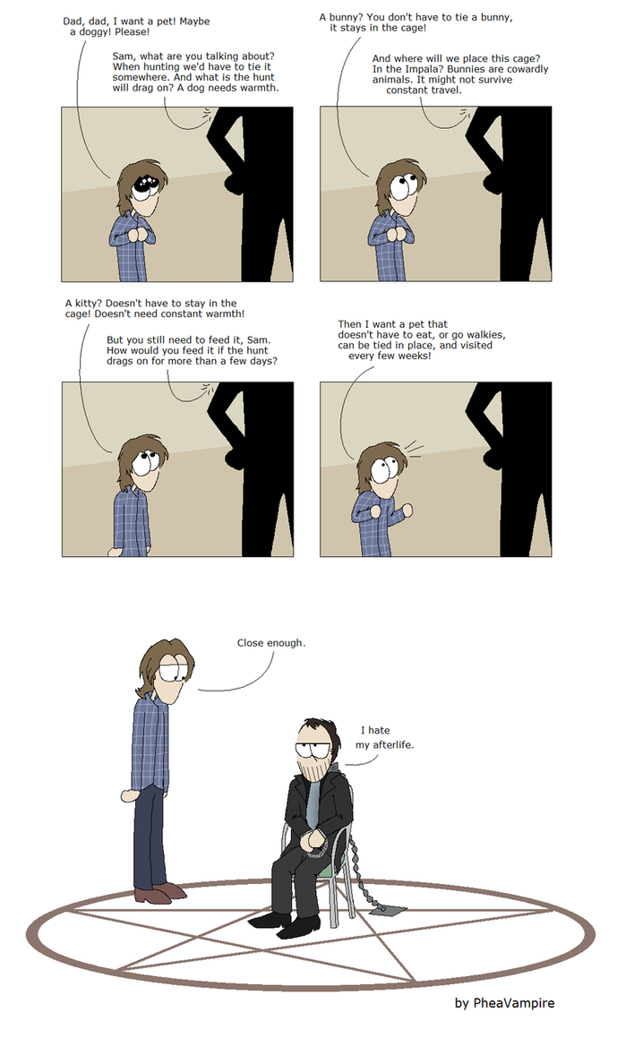 SPN: Sam's wish (kind of SPOILER) by PheaVampire