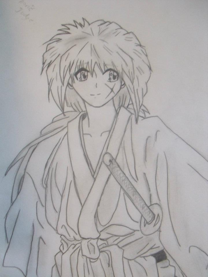 Rurouni Kenshin Drawing By FangAKat