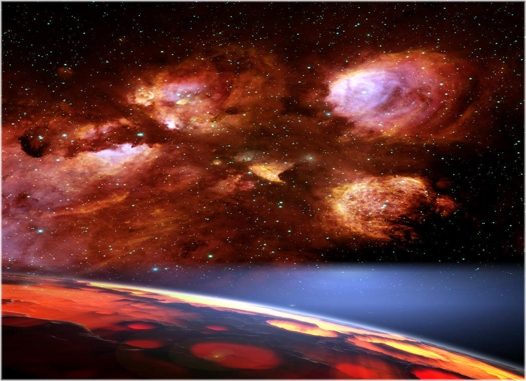 Red Storm at the Horizon by MindStep on deviantART