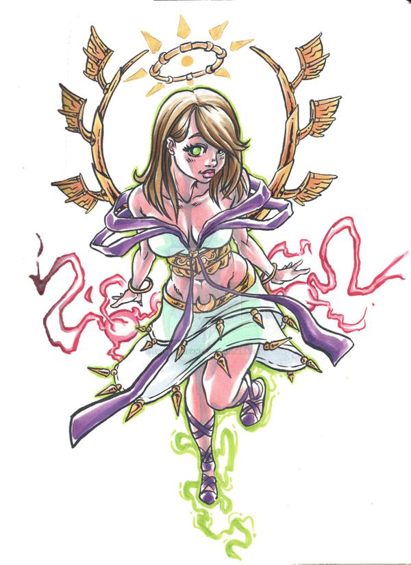 Goddess II by Swissy-nopants