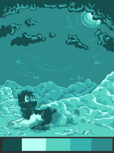 CE: Under the moon by Bienoo