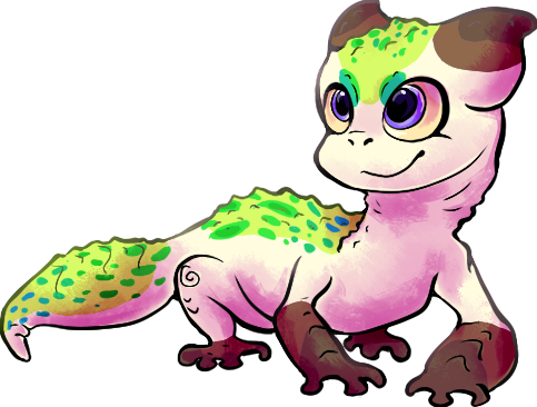Gecko character! by Bienoo