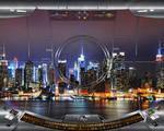 SHIELD Bridge 04 : Rainmeter Theme