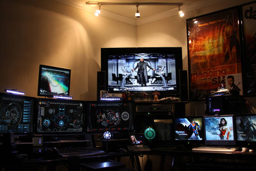 Tony Stark Inspired Man Cave