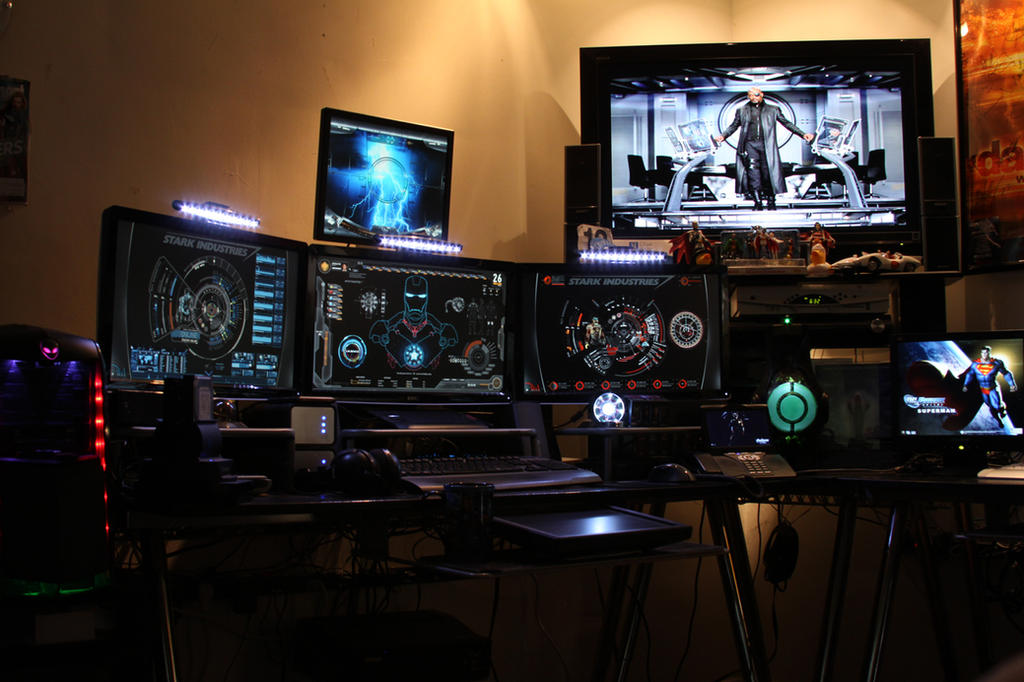 Garage Man Cave Reddit : Tony stark inspired man cave by edreyes on deviantart