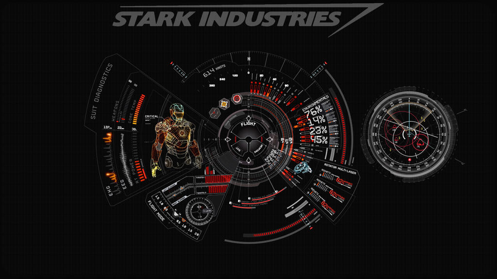 Jarvis Iron Man Wallpaper Hd 74 Images: JARVIS + Iron Man : Red Wallpaper By Edreyes On DeviantArt