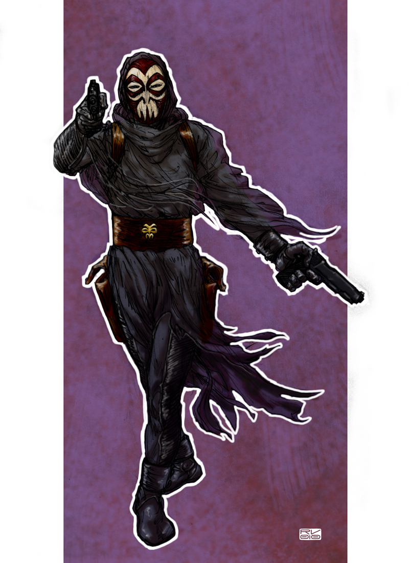 The Phantom by 2depaus