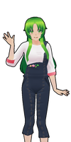 Yandere Simulator:Midori Gurin Casual Outfit by CandyCandy223