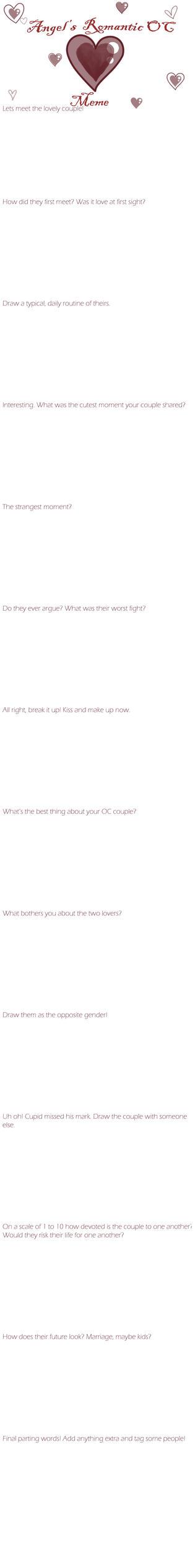 Romantic OC Couple Blank by Alchemy-Angel
