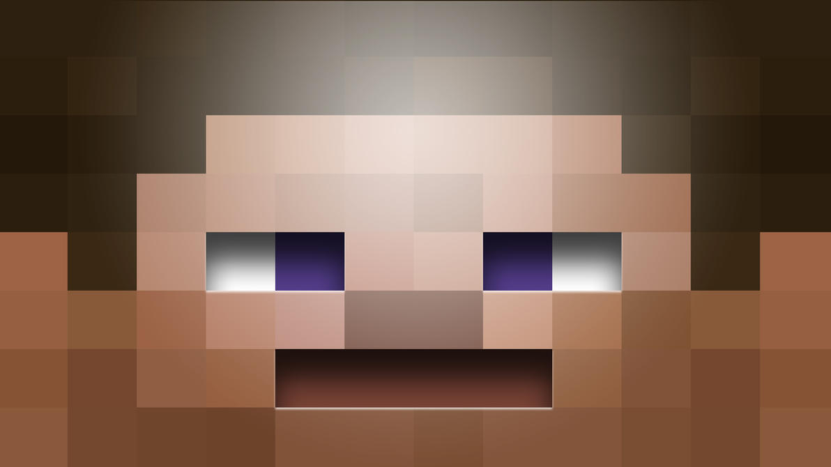 Steve Head Minecraft Texture Steve wallpaper by