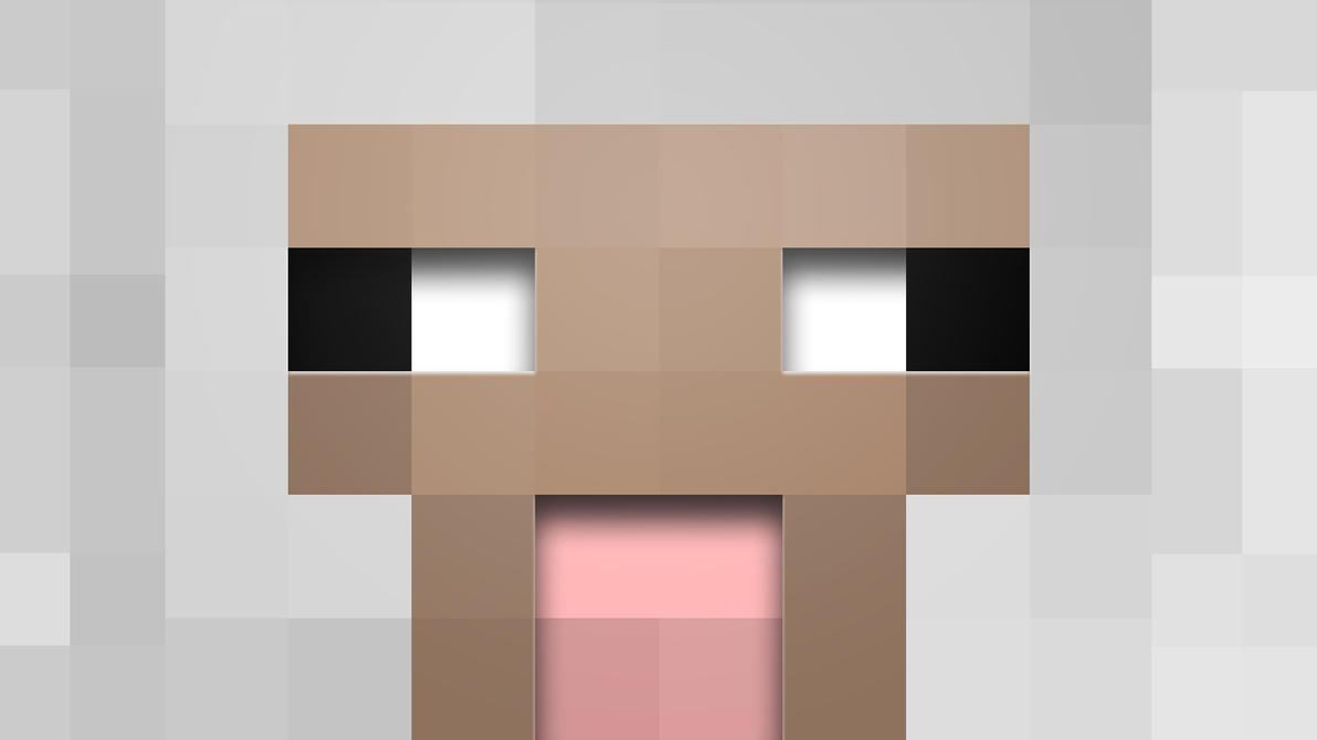Most Inspiring Wallpaper Minecraft Zombie Pigman - minecraft_sheep_wallpaper_by_averagejoeftw-d5kioyi  Picture_432522.jpg
