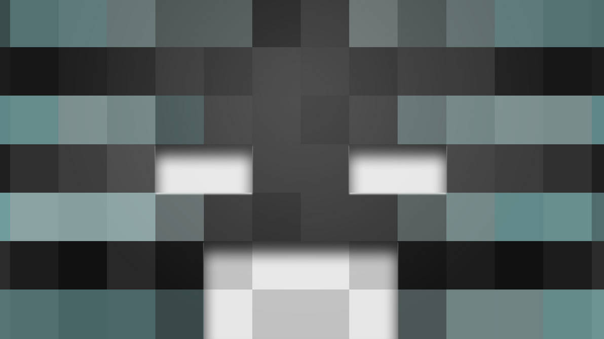 Minecraft Wither Main Head Wallpaper By Averagejoeftw On