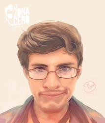 Portrait- Chucho Calderon- LA ZONA CERO by Kyotox33JDI