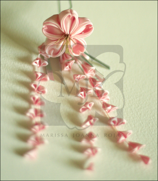 Sakura Love Kanzashi by Kaijou-Akai