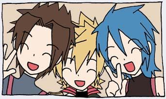 Kingdom Hearts Birth by Sleep by ai-bluedog