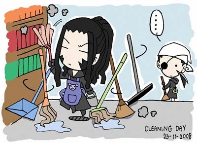Org13-Cleaning Day? by ai-bluedog