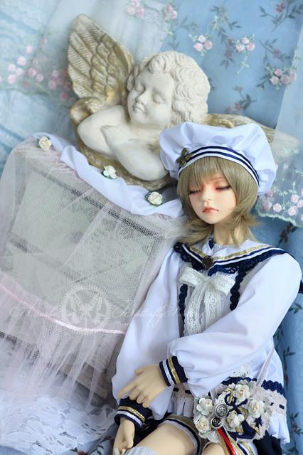 Sleeping Angel by Mar-la