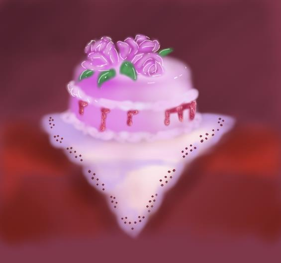 Yummy Cake Art : yummy yummy cake! by lillythefade on deviantART